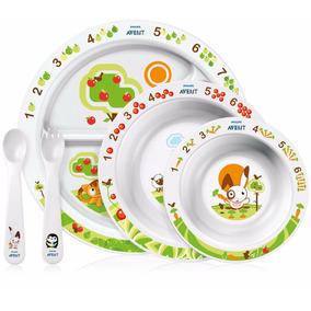 Set De Alimentación Avent Philips Scf716/00 Para Bebes (+6m)