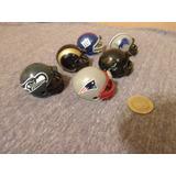 Nfl Mini Cascos Lote De 6 Patriots Envio Gratis!! Kikkoman65