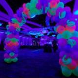 Globos Neon Fiestas Pencil Redondos Eventos Decoracion Niños