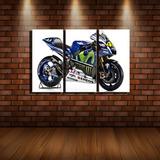 Moto Gp Quadro - Valentino Rossi - Vr46 - Frete Grátis*