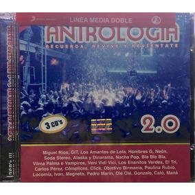 Cd Antrologia 2.0 Miguel Rios Hombres G Calo Mana Nuevo 3cds