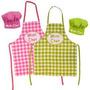 Delantal De Cocina Infantil Con Gorro De Cocinero Nene Nena