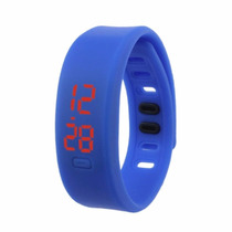 Reloj Led Delgado Silicona Ajustable Digital Running Unisex