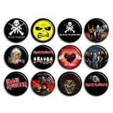 Buttons Botons Personalizados 2,5 Cm Rock Iron Maiden