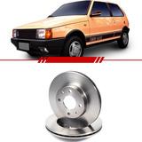 Par Disco De Freio Dianteiro Fiat Uno 97 96 95 94 93 92 A 87