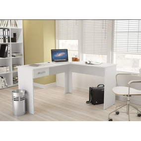 Mesa L Branca Mesa Escritório Consultório Psicologia Fn
