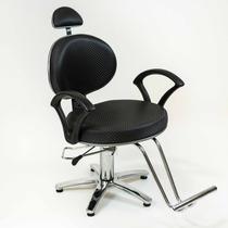 Poltrona Cadeira Carol Fixa Moveis Salao Cabeleireiro