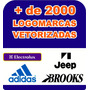+ De 2000 Logomarcas Vetorizadas