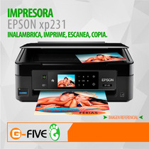 Impresora Multifuncional Epson Xp231 Wifi