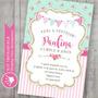 Kit Imprimible Shabby Chic Vintage Candybar Romántico Rosas