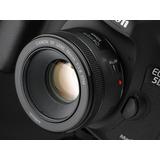 Nova Lente Canon 50mm F/1.8 Stm Caixa Original C/ Garantia!