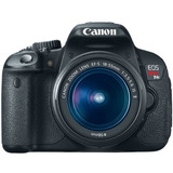 Canon Eos Rebel T4i 18,0 Mp Cmos Digital Slr Con Mm Ef-s I