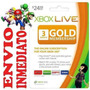 Código Suscripción Membresia 3 Meses Xbox Live 360 One