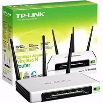 Router Tp Link Tl-wr 941nd 3 Antenas 300 Mbps Wifi Inalambri