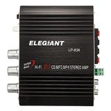 Elegiant 200w 12v Mini Amplificador Hi-fi Booster Radio Mp3