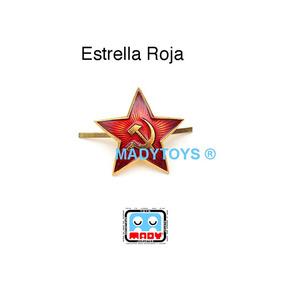 Fistol Insignia Ejército Ruso Rusia Estrella Hoz Y Martillo