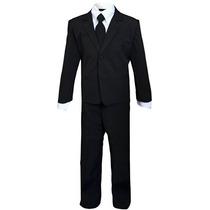 Disfraz Para Niño Niños Slenderman Agente Negro Traje Traje