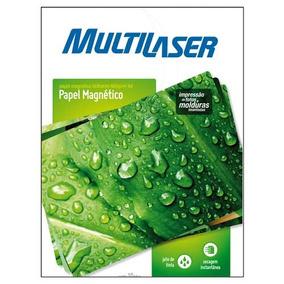 Papel Fotográfico Magnetico A4 10 Folhas 660gr - Multilaser