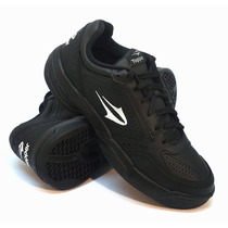 Zapatillas Topper Modelo Tenis Spin Color Negro