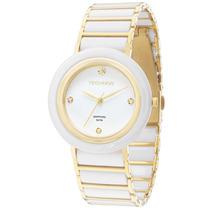 Relógio Technos Feminino Elegance Ceramic Saphire 2036lnd/4