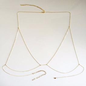 Body Chain Bralette Simples @ Pennarosa [frete Grátis]
