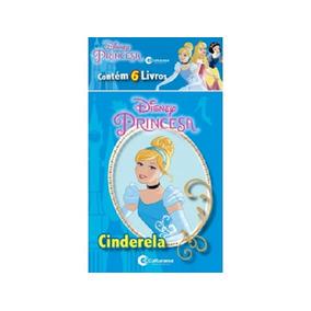 Mini Livros Princesas Disney Com 6 - Culturama