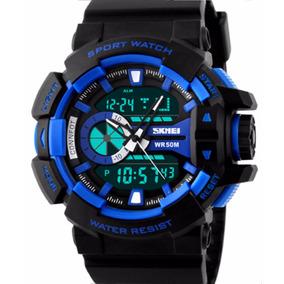 Reloj Moderno Tactico Militar Generacion 2 Azul
