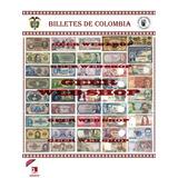 Afiche Billetes De Colombia - Producto Exclusivo - 5 Diseños