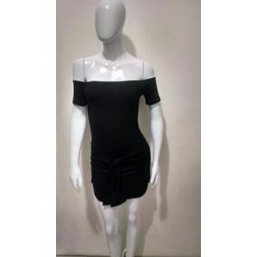 Vestido Curto Listrado Modelo Nicole Bahls Tecido Viscolycra