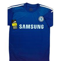 Franela Hombre Chelsea Adidas- Importada Excelente Calidad