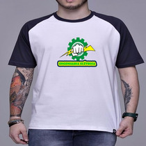 Camiseta Raglan Curso Engenharia Elétrica