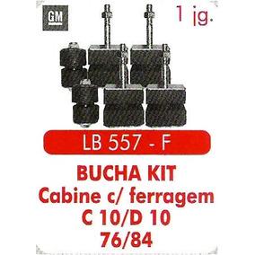 Kit Calço Cabine C-10/d-10/ano76/84 C/fer. E Kit Carroceria