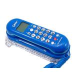 Aparelho De Telefone Azul Tela Lcd Kx-t0106 Interfone