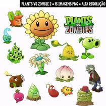 Kit Imprimible Plants Vs Zombies 43 Imagenes Clipart