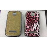 Capa Tpu + Película Plástico Celular Motorola Ex108 E Ex109
