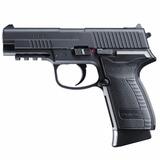 Pistola Co2 Blowback Hpp + 10 Cilindros + 300 Esferas + Capa