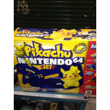 Nintendo 64 Versión Pikachu Nuevo Sin Abrir