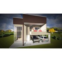 Projetos Casas Edificios Planta Baixa 3d, Fachada Maquete 3d