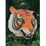 Mascara Latex Tigre Animal Importada Original Usa Disfraz