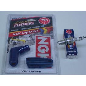 Vela Iridium Ngk+cachimbo Tuning Crf230 Xr200 Cbx200 Titan99