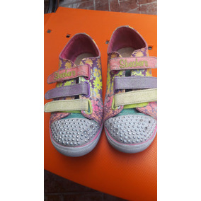 Zapatillas Con Luces Talle 35 Sketchers