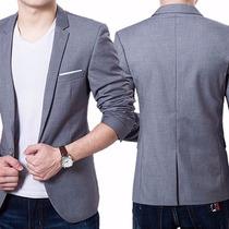 Blazer Slim Fit Luxo Casual Masculino (importado)