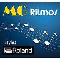 18.000 Ritmos P/ Teclados Roland Linha E, G ,gw , Va, Etc...