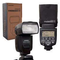 Flash Yongnuo Yn 565 Ex Il Speedlite Canon É Ex Nikon....