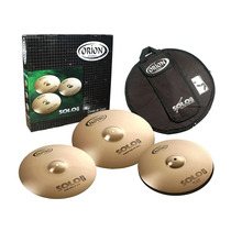 Set De Pratos Orion Solo Pro Pr90 14 / 16 /20 Com Bag