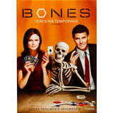 Box Bones 3ª Temporada Original E Lacrada - 4 Dvds