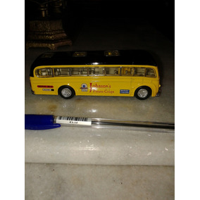 Ônibus De Ferro 14x3,5x4,5cm