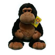 Macaco Gorila De Pelúcia Safári 35cm - Fofy Toys