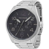 Relógio Technos 6p25ax/1p 6p25ax 1p Aço Multifunção Grande