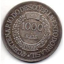 Moeda 1000 Reis 1900 Ref P678 Replica Rara